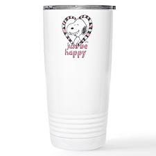 Snoopy Just Be Happy Travel Mug