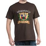 Wizard U Alchemy Gamer RPG HP Brown T-Shirt