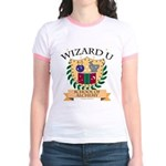 Wizard U Alchemy RPG Gamer HP Yellow Ringer Tee