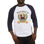 Wizard U Alchemy RPG Gamer HP Blue Baseball Jersey