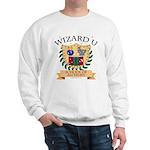 Wizard U Alchemy RPG Gamer HP White Sweatshirt