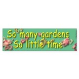 Garden Tour Bumper Bumper Sticker