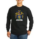 Stengel Family Crest Long Sleeve Dark T-Shirt