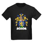 Stengel Family Crest Kids Dark T-Shirt