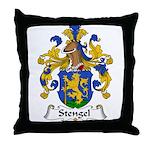 Stengel Family Crest Throw Pillow