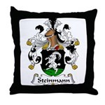 Steinmann Family Crest Throw Pillow