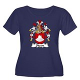 Steen Family Crest Women's Plus Size Scoop Neck Da