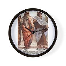 Philosophy Fine Art Prints: Wall Clock