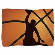 Basketball dunk Pillow Sham