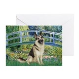 Bridge / G-Shep Greeting Cards (Pk of 20)