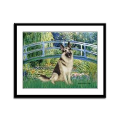 Bridge / G-Shep Framed Panel Print