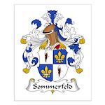 Sommerfeld Family Crest  Small Poster