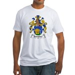 Sommer Family Crest  Fitted T-Shirt