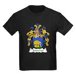 Sommer Family Crest  Kids Dark T-Shirt