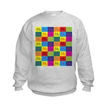 Pop Art Bicycle Sweatshirt