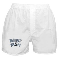 BP Letters Best Man Boxer Shorts