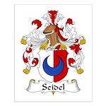 Seidel Family Crest  Small Poster