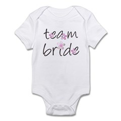 baby team bride creeper