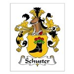 Schuster Family Crest Small Poster
