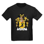 Schuster Family Crest Kids Dark T-Shirt