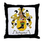 Schuster Family Crest Throw Pillow