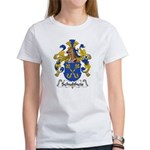 Schultheis Family Crest Women's T-Shirt