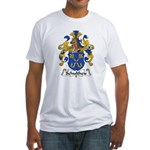 Schultheis Family Crest Fitted T-Shirt