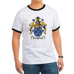 Schultheis Family Crest Ringer T