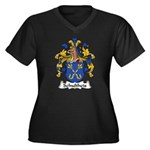Schultheis Family Crest Women's Plus Size V-Neck D