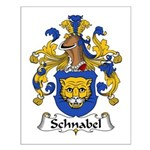 Schnabel Family Crest Small Poster