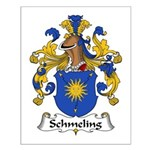 Schmeling Family Crest Small Poster