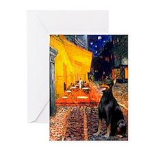 Cafe & Dobie Greeting Cards (Pk of 20)
