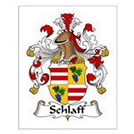 Schlaff Family Crest Small Poster