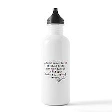Retired Nurse Poem Water Bottle