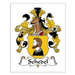 Schedel Family Crest Small Poster