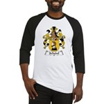 Schedel Family Crest Baseball Jersey