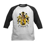 Schedel Family Crest Kids Baseball Jersey