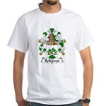 Schaven Family Crest White T-Shirt