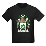Schaven Family Crest Kids Dark T-Shirt