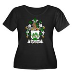 Schaven Family Crest Women's Plus Size Scoop Neck