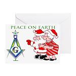 Masonic S&C Tree Greeting Card