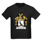 Schantz Family Crest Kids Dark T-Shirt