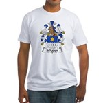 Schaden Family Crest  Fitted T-Shirt