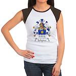 Schaden Family Crest  Women's Cap Sleeve T-Shirt