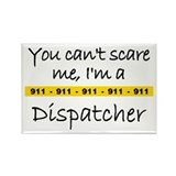 Police Tape Dispatcher Rectangle Magnet