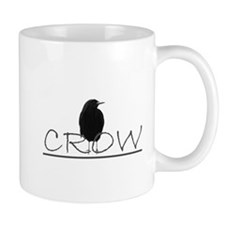 crow bird design Mug