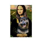Mona's G-Shepherd Rectangle Magnet
