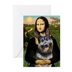 Mona's G-Shepherd Greeting Cards (Pk of 20)