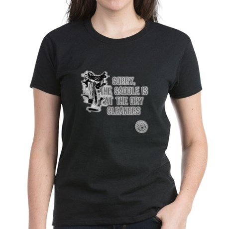 Saddle at the Cleaners Women's Dark T-Shirt