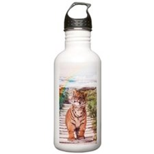 Tigers soap bubbles Water Bottle
